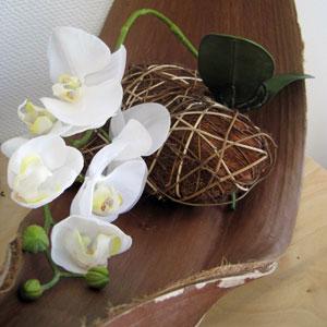 naturdeko dekorieren mit nat rlichen materialien liegt. Black Bedroom Furniture Sets. Home Design Ideas