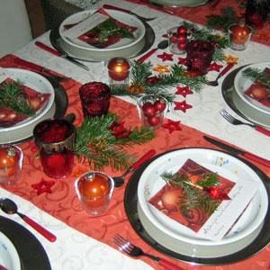 Tisch Und Tafeldekorationen Fur Weihnachten
